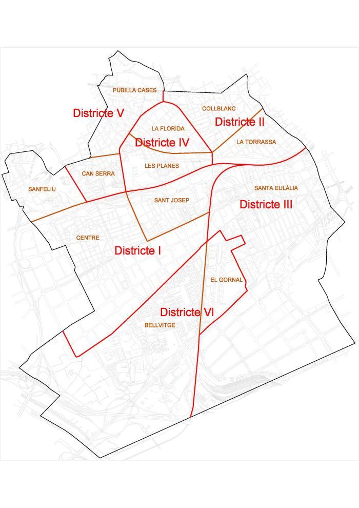 Mapa De L Hospitalet.Presentacion Ajuntament De L Hospitalet