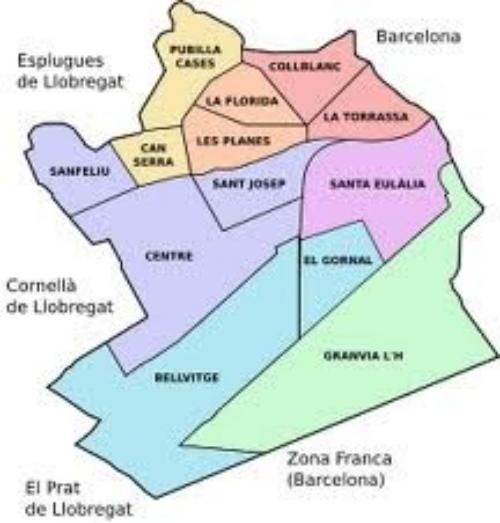 Mapa De L Hospitalet.Inicio Museu D Historia De L Hospitalet