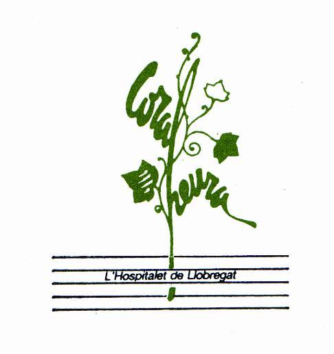 logotip de la Coral Heura