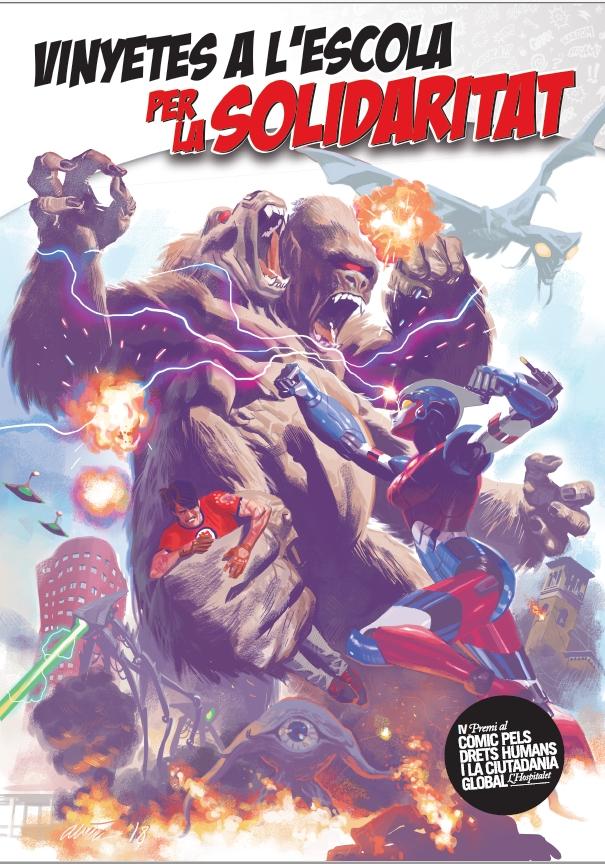 2019 portada del llibret de còmic