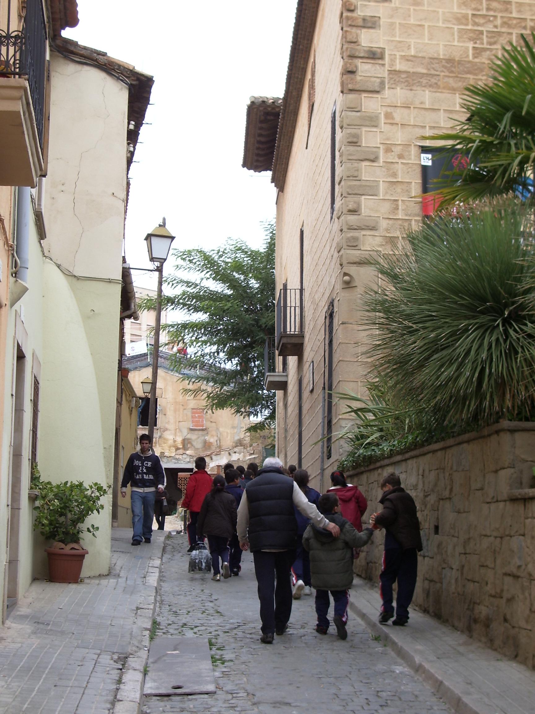 El carrer del Xipreret