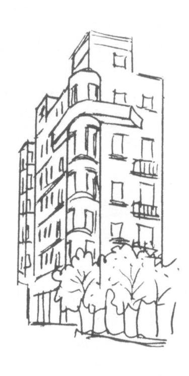 Dibuix Casa Baiges, R. Puig i Gairalt