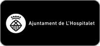 Logotip blanc horitzontal esquerra en negatiu