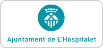 Logotip color horitzontal centrat en positiu