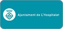 Logotip color horitzontal esquerra en negatiu