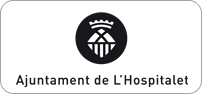 Logotip negre horitzontal centrat en positiu