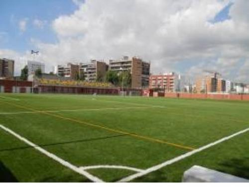 Cantonada del Camp Municipal Futbol Provençana