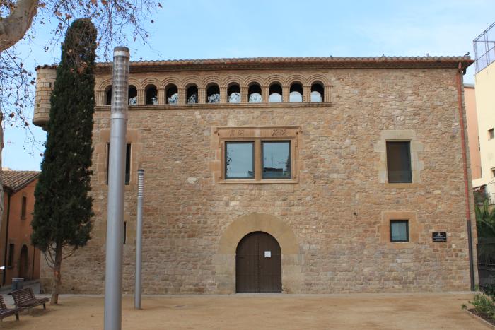 Facade of the Museu de L'Hospitalet - L'Harmonia