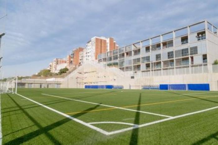 Cantonada camp de futbol La Torrassa