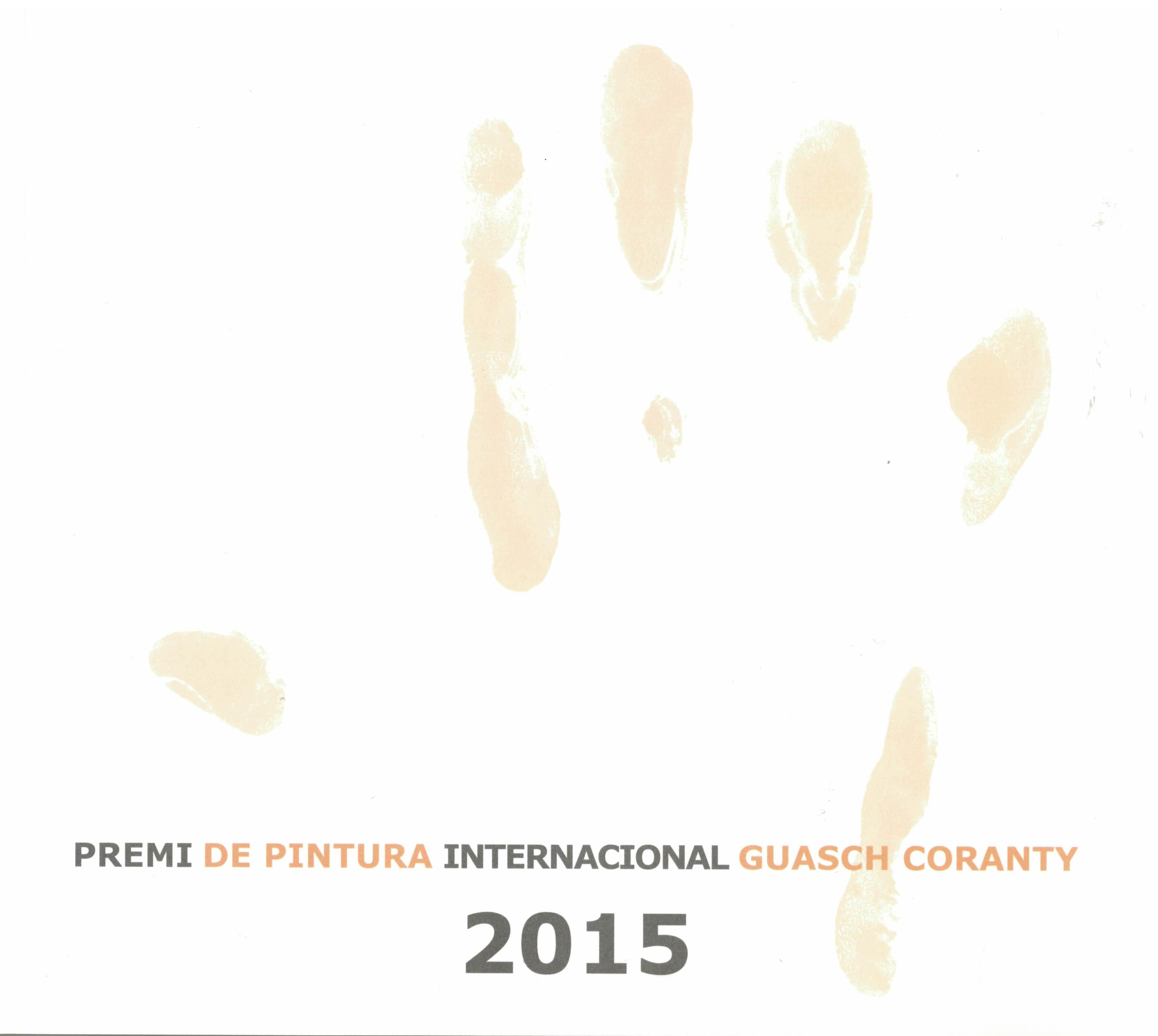 Premi de pintura intenacional Guasch Coranty 2015