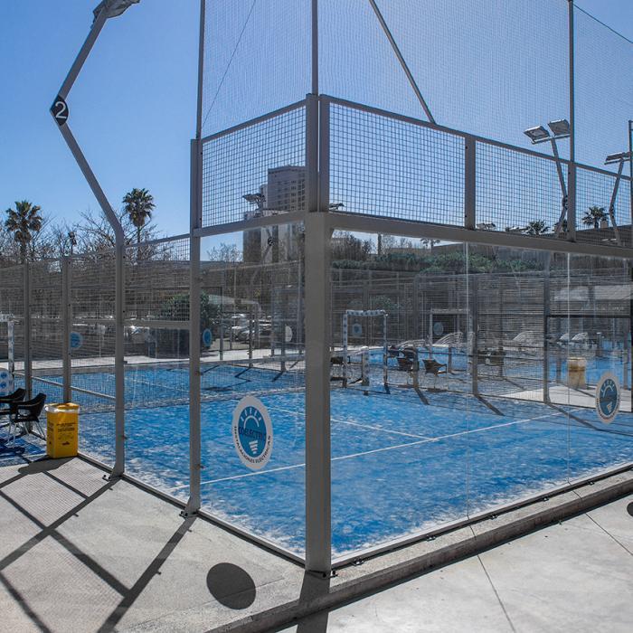 Imatge de la piscina exterior