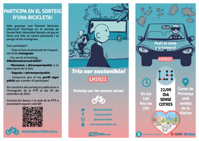Imagen de L'Hospitalet celebra la Semana Europea de la Movilidad promoviendo los desplazamientos saludables y sostenibles