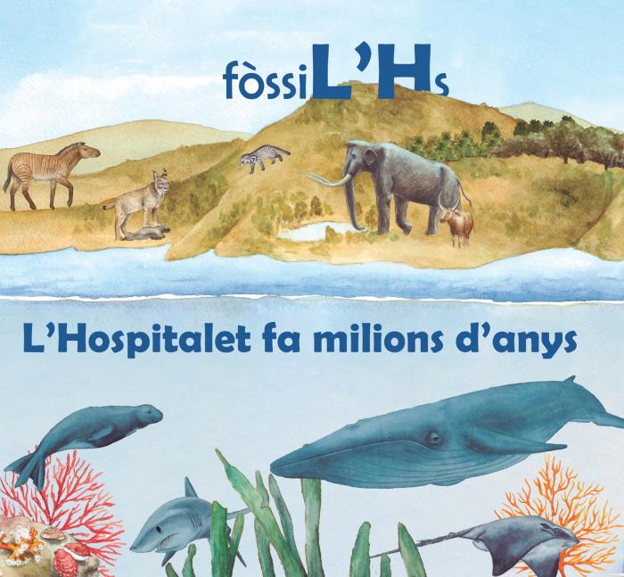 """Imatge de L'exposició """"FòssiL'Hs"""" proposa un viatge a L'Hospitalet de fa milions d'anys"""