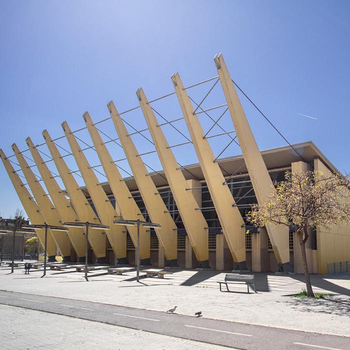 Imatge del Poliesportiu Municipal Bellvitge Sergio Manzano