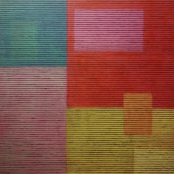 Obra de William George amb la qual es promociona l'exposició