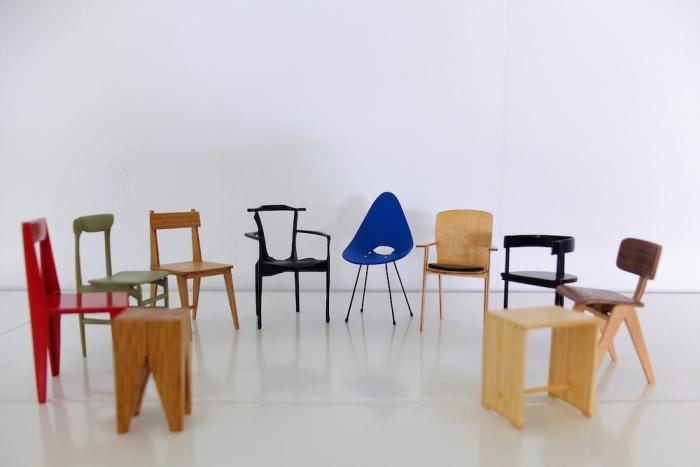 er imágen de Diseño de mueble contemporáneo en miniatura para Fernando Setién