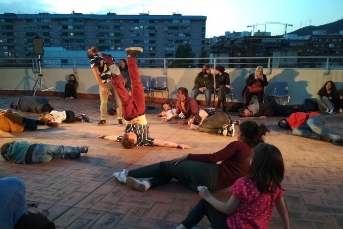 Veure imatge de Terrats en Cultura al Centre Cultural La Bòbila