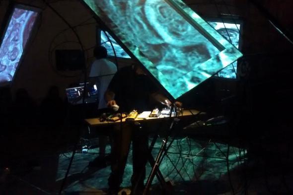 Veure imatge de Performance audiovisual